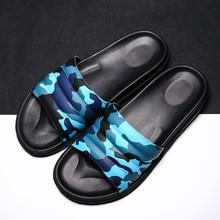 Мужские тапочки; камуфляжные Вьетнамки; камуфляжные повседневные шлепанцы; Мужская обувь; нескользящая пляжная обувь; Летние сандалии; zapatos hombre Sorrynam