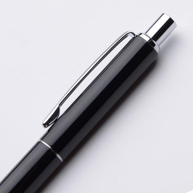 Baoer 037 Ballpoint Pen Metal Black Silver Gold Ball Pen Luxury Business Gifts Student School Supplies Roller Pen 10 Customiza 2