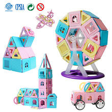 Constructor-Toy Magnet Building-Blocks Girls Children for Boys