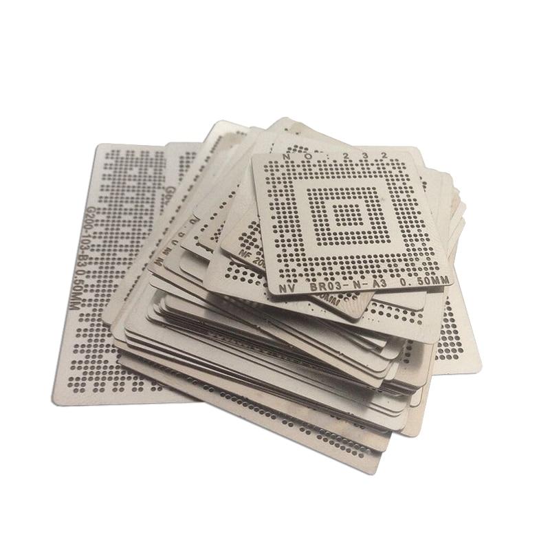 Laptop Nvidia Chip 36 Pcs /set Bga Reballing Stencil Tample Kit