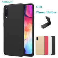 For Samsung Galaxy A50 A50S A10 A20 A30 A30S A40 A60 A70 M40 Case Nillkin Frosted Shield Hard PC Back Cover For Samsung A50 Case