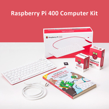 New Raspberry pi 400 personal computer kit compact keyboard with a built-in computer