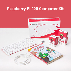 Новый персональный компьютерный набор Raspberry pi 400 компактная клавиатура со встроенным компьютером