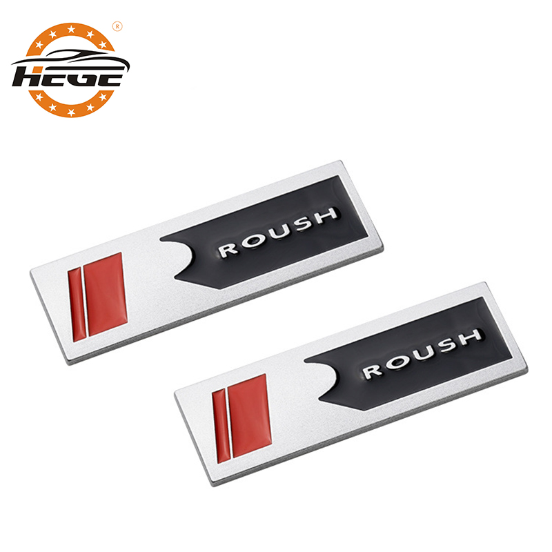 Dsycar 1Pcs 3D Metal RDESIGN Car Side Fender Rear Trunk Emblem Badge Sticker for Universal Cars Motorcycle Car Styling