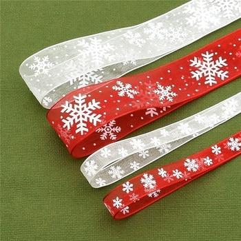 Cinta de satén de seda lazo con estampado para manualidades, 5 metros,...