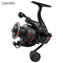 Lawaia Fishing Reels 13-axis Speed Ratio 4.7:1 All-metal Spinning Wheel Without Gap Far-injection Reel Baitcasting