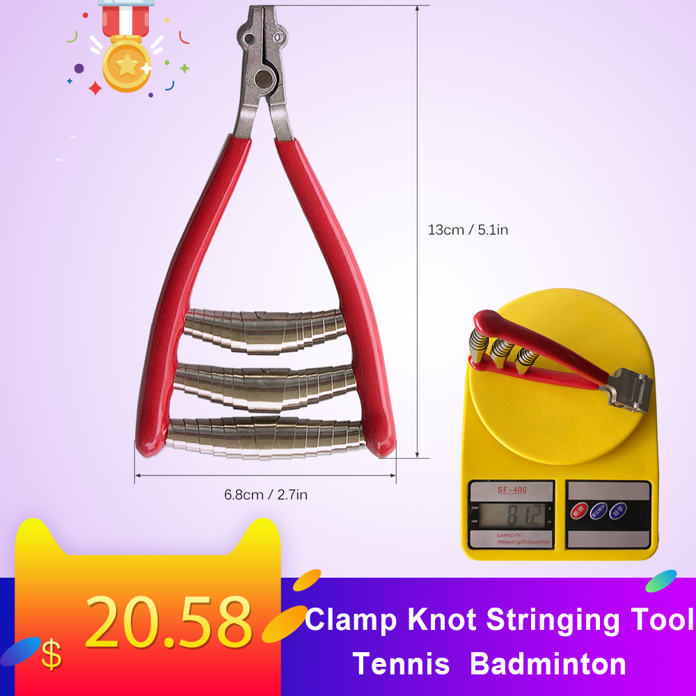 Tennis Starting Clamp Knot Stringing Tool Badminton Racket Racquet Accessories