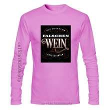 T-Shirt Bin Heute Mit Dem Falschen WEIN Aufgestanden Alkohol Party Geschenk Novelty Cool Tops Men Short Sleeve T Shirt