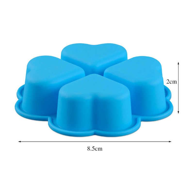 1 шт. силиконовые формы для торта самодельная выпечка Сердце цветок маффины с помадкой шоколадные формы чашка кекса формы для выпечки блюдо для выпечки
