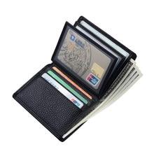 CHALLEN держатель для карт мужской кошелек для денег карман для монет винтажный короткий кошелек из искусственной кожи мужской тонкий кошелек мягкие кошельки