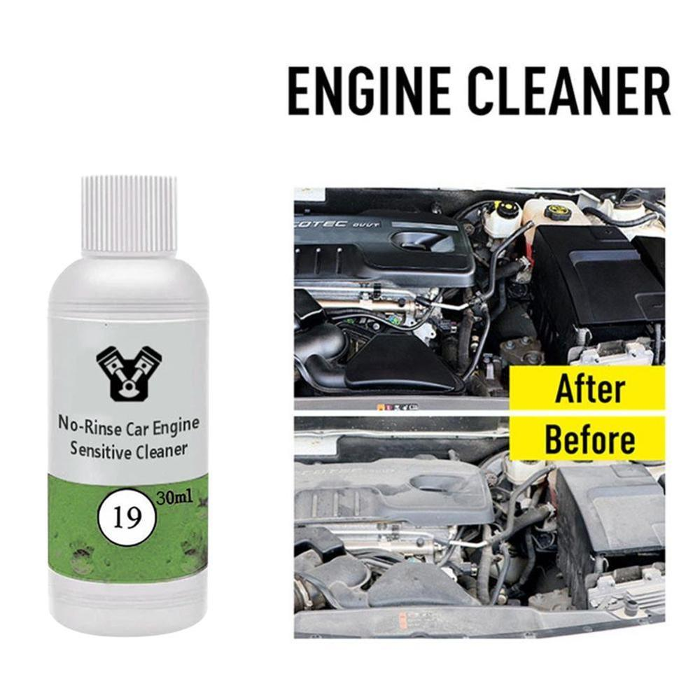 30/50ml Engine Cleaner No-rinse Car Engine Sensitive Cleaner Removes Engine Compartment Grease Decontamination