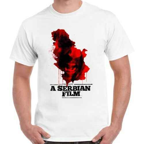 Film Serbia Horor 2010 Poster Retro T Shirt 138