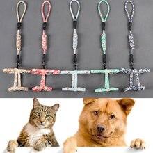 Ошейник для кошек и собак поводок нагрудный ремень безопасный