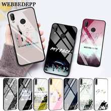 WEBBEDEPP Stray Kids Kpop Band Glass Case for Huawei P10 lite P20 Pro P30 P Smart honor 7A 8X 9 10 Y6 Mate 20