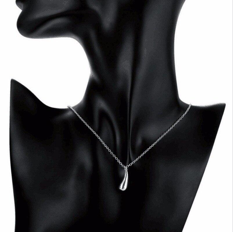 Water Drop Bangles+Necklace+Rings+Earrings Set 6