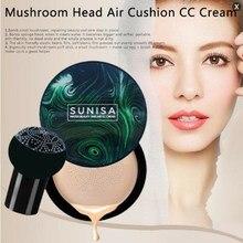 Консилер CC крем Грибная голова воздушная подушка макияж увлажняющий тональный крем Воздухопроницаемый натуральный Осветляющий Макияж BB крем