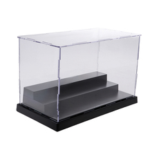 Acrylic Display Case 3 Step Show Box for Action Figure Doll Dustproof Waterproof Clear Kids Toy Storage