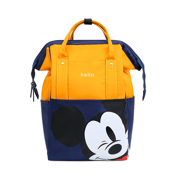 Disney  Mickey Mouse Diaper Bag Waterproof/Baby Care/Mummy Bag Maternity Backpack Large Nappy Bag  Oxford cloth Baby Bag multifunctional mummy bag backpack nappy bag baby diaper bags mommy maternity bag baby care product updated new style large 2016