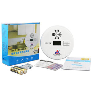 Carbon-Monoxide-Alarm YK616 Alarm-Certified-Product Co-Leak Factory-Direct