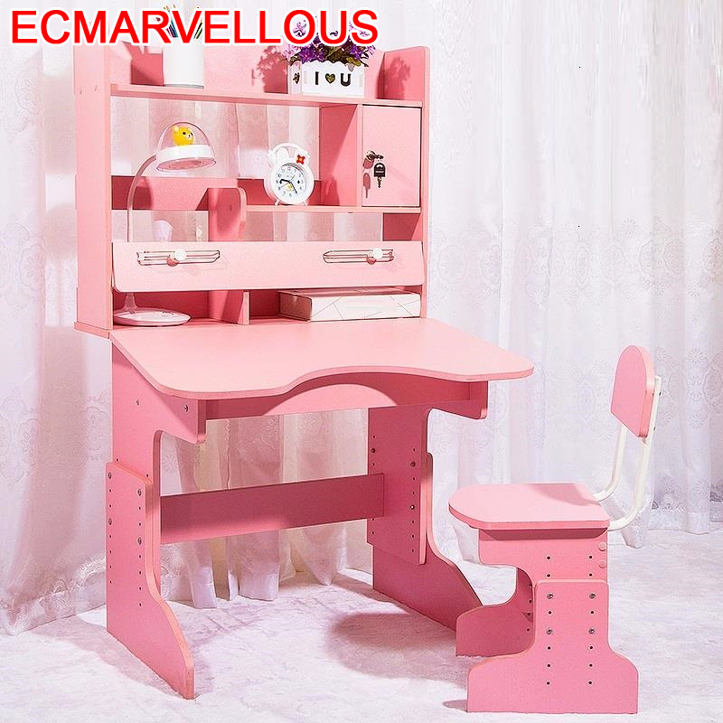 Chaise Pupitre Pour Kindertisch Tavolo Per Bambini De Estudo Toddler Adjustable Kinder Enfant Mesa Infantil Kids Study Table