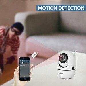 Image 4 - Fuers 1080P IPกล้องTuya APPอัตโนมัติติดตามกล้องรักษาความปลอดภัยภายในบ้านกล้องวงจรปิดไร้สายWiFi Baby Monitor