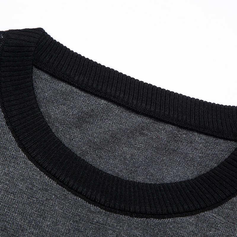 GAAJ 2019 di marca nuovo a righe lavorato a maglia pull maglione degli uomini di indossare la maglia abito di lusso mens pullover maglioni di moda maschile uomo sweter