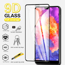 9D Curved Screen Protector 9H Glass Film For Huawei P30 P20 Lite 2019 Full Cover Screen Protector Glass For Huawei Mate 30 20 Lite Mate20 Mate30 Tempered Glass Film on The Honor 8X 20 Pro 20Pro P30 9D Glass Case Film(China)