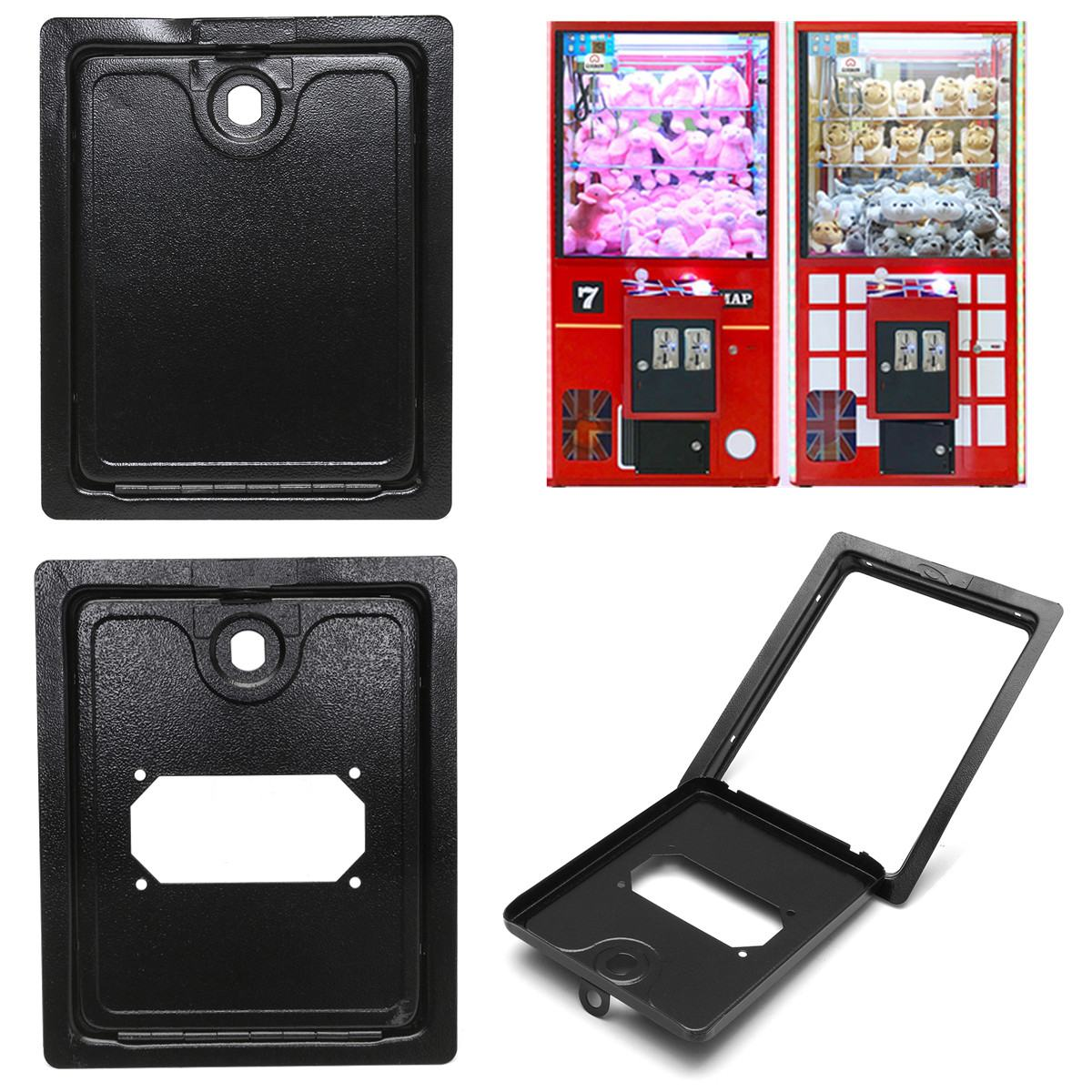 Arcade Game Coin Door Access Sturdy Reliable For Coin Acceptor Jamma Mame Top/Buttom Door Access To Cabinet Cash Box