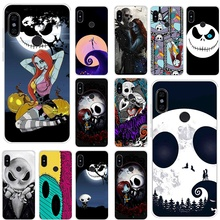 Mobile Phone Case for Xiaomi Redmi Note 8 6 7 5 Pro Xiaomi 4 4X 5A Cover The Nightmare Before Christmas Cute