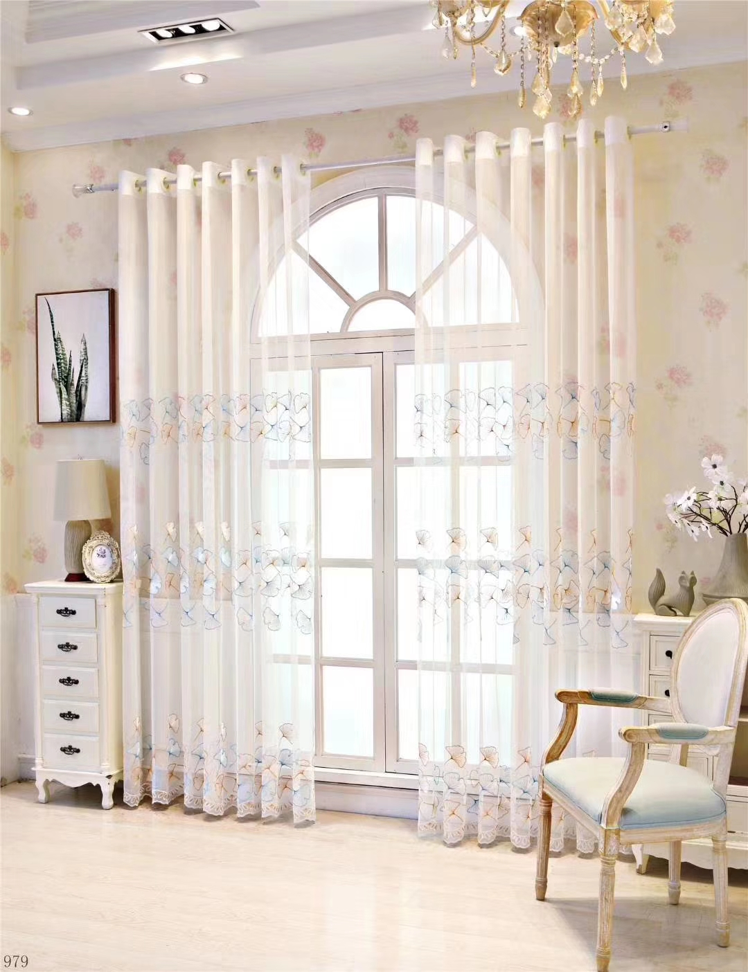 2019 European Style Tulle Curtain Door Window Curtain Drape Panel Sheer Scarf Valances Room Curtains For Modern Bedroom Living Room From Greenliv