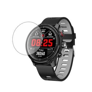 3 szt. Przezroczysty miękki przezroczysty ochronny folia ochronna do trzymania mi L5 smartband z zegarkiem zabezpieczenie ekranu ochrona Smartwatch