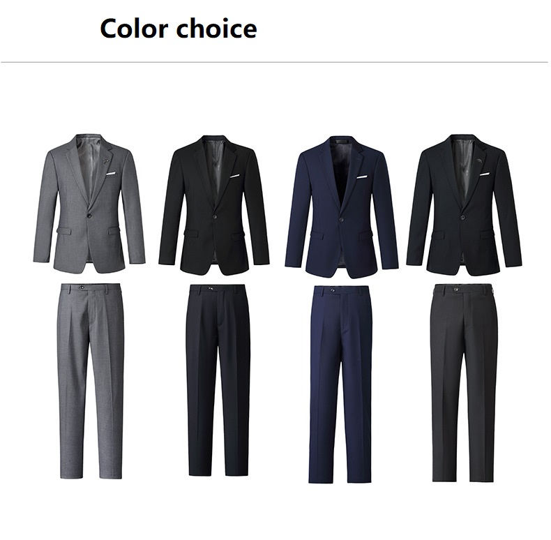 Image 2 - Free shipping 2019 Fashion men women blazer suit office uniforms 