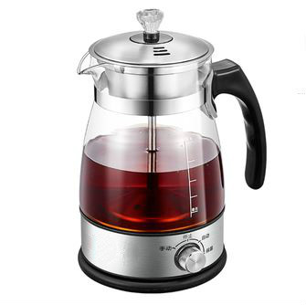 Tea Maker Black Pu 'er Glass Electric Kettle Steam Teapot Automatic - Type Set