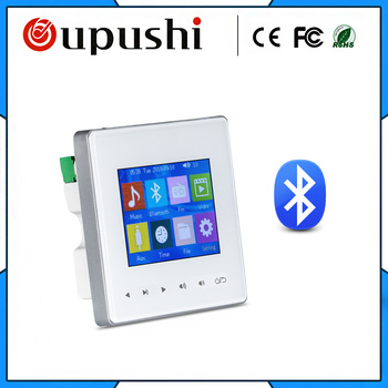 oupushi AG-3 home amplifier Bluetooth digital stereo amplifier in wall amplifier with touch key