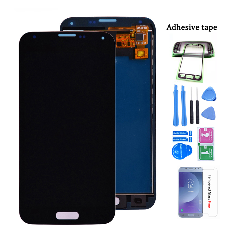 For Samsung S5 G900F LCD Display Screen Touch Digitizer Assembly Compatible for Samsung Galaxy S5 G900 G900A G900T G900I LCD(China)