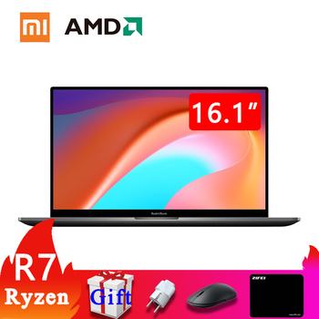 RedmiBook 16 new 2020 Xiaomi Laptop AMD Ryzen 7nm process cpu 16 Inch FHD Screen DDR4 2666MHz RAM 512GB SATA SSD mi Notebook