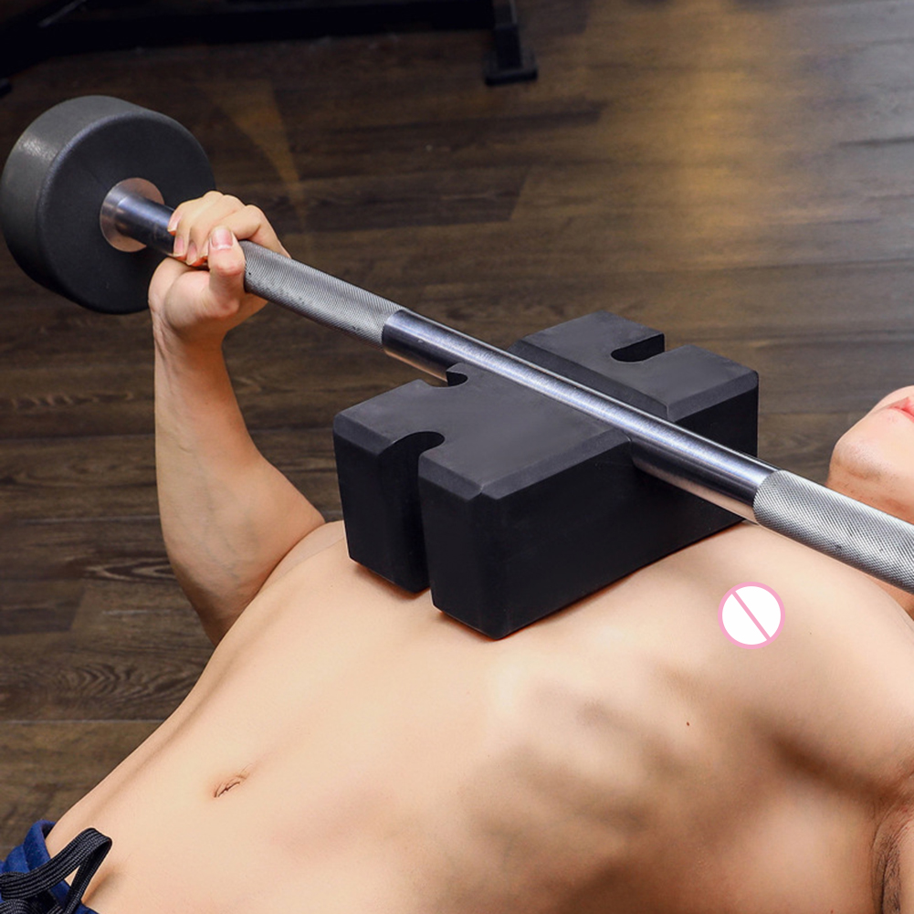 Brick Barbell Bench Press Board Adjust Height Squat Bench Press Assist Fitness Sports Exercise Trainer Device
