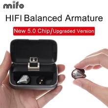 Mifo O5 بلوتوث 5.0 سمّاعات أذن لاسلكيّة متوازن بلوتوث سماعة رياضة سماعات ستيريو مع شحن صندوق 2020 ترقية