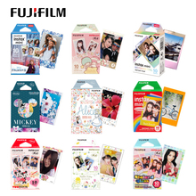 Фотобумага Fujifilm Instax Mini 8, 10 листов, синяя фотобумага Rilakkuma Hello Kitty Fuji для мгновенной камеры 70 50s 7s 90 25 SP2 LOMO