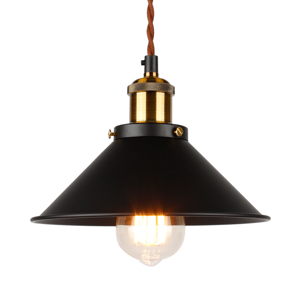 Industrial Pendant Light Edison Pendant Lighting Vintage Pendant Light Metal Handing Lamp Iron Pendant Light Fixture Bronze
