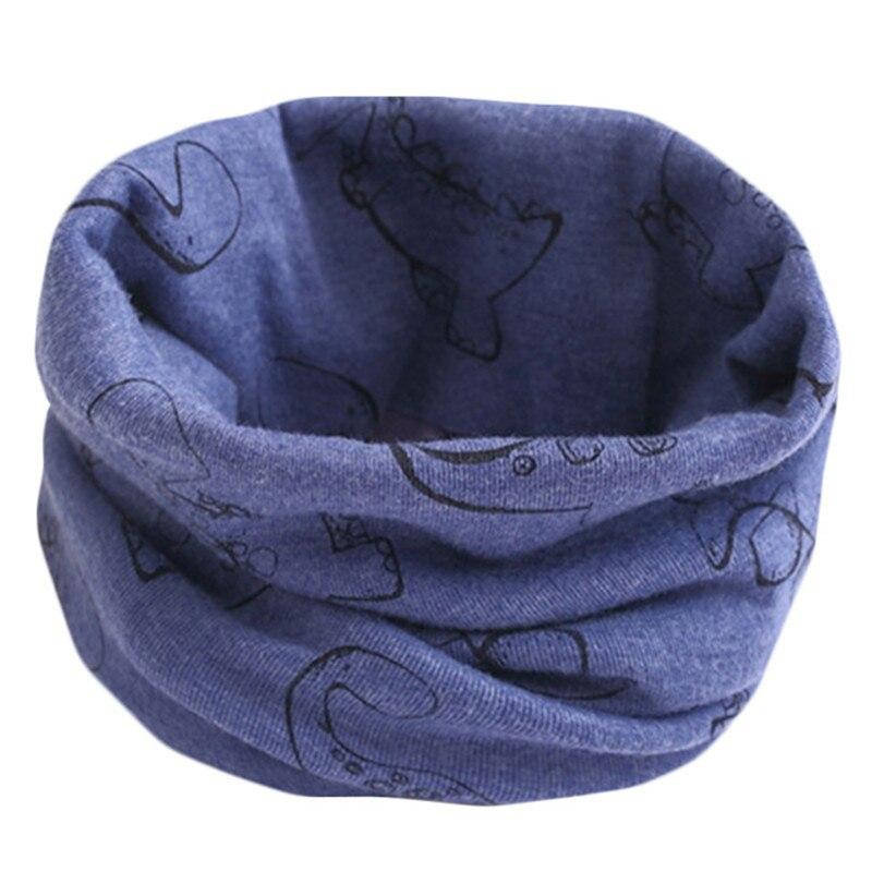 Весенне-осенне-зимний детский хлопковый шарф для От 0 до 10 лет, Детские шарфы с героями мультфильмов, модный теплый воротник - Цвет: 04