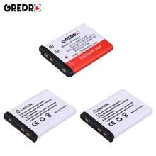 Batteries 1200mAh Li-40B Li-42B EN-EL10 Li 40B, 3 pièces, pour batteries FUJ.NP-45, NIK.EN EL10, PE n.d-li63, CAS.NP-80, KLic-7006