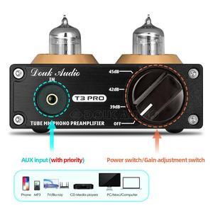 Image 3 - Douk audio Mini HiFi MM Phono Stage Giradischi Preamplificatore Stereo Audio Tubo A Vuoto Preamplificatore