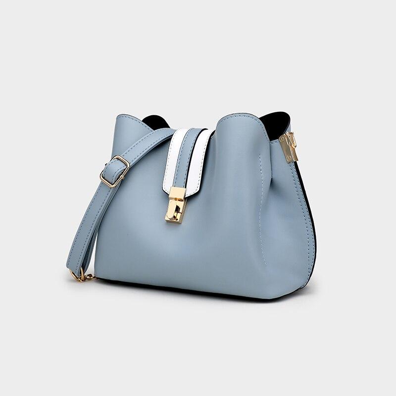 Ceossman 2020 Summer Fashion Women Bag Leather Handbags PU Shoulder Bag Small Flap Crossbody Bags For Women Messenger Bags