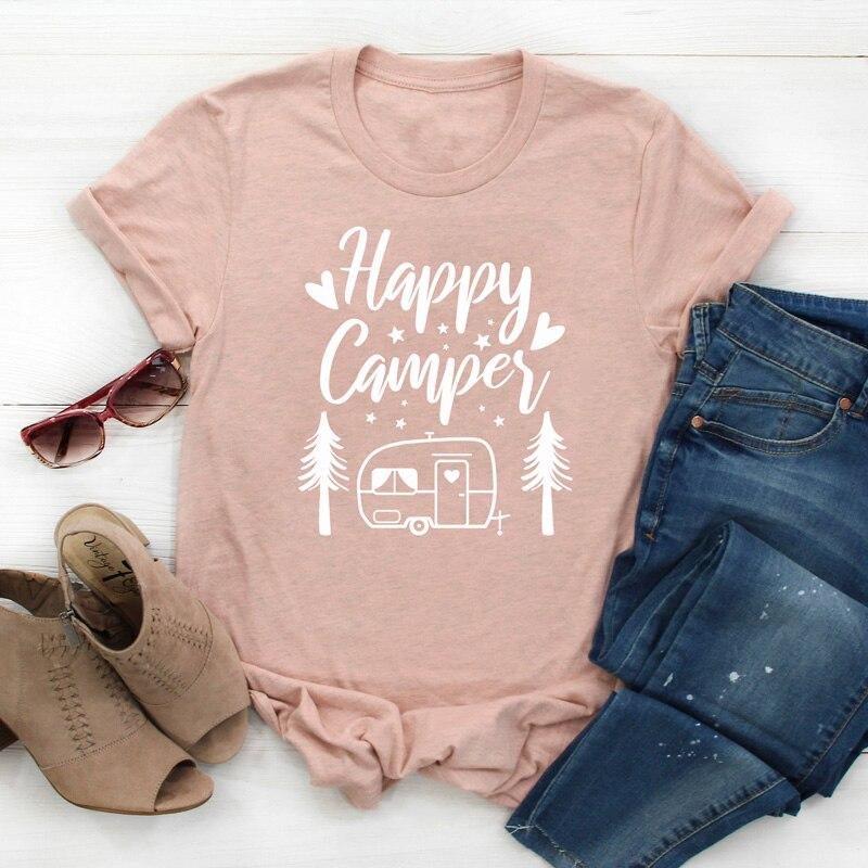 Happy Camper Shirts Happy Camper Tees Happy Camper Tshirts HAPPY CAMPER Kids Tee
