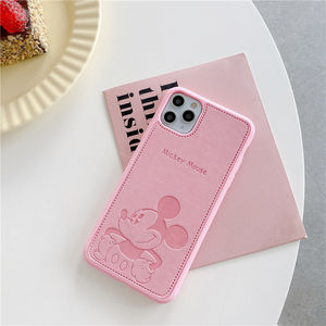 Image 1 - 2021 Disney for iphone 7/8 plus x xsmax xr se2020 iphone11pro Max cute girl couple creative phone case