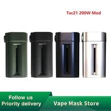 Heavengifts Squid Industries Tac21 200 Вт мод высокой мощности электронная сигарета мод с верхним oled-экраном и передовым чипсетом и VW режимами Vs Shogun