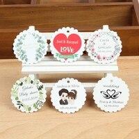 Индивидуальные персонализированные свадебные этикетка с эмблемой день рождения конфеты коробки ярлыки пригласительные этикетки крещение...