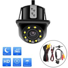 170° HD Car Rear View In-vehicle Camera 8 LED Night Vision Waterproof Auto Parts