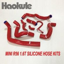 Prestaties Radiator Siliconen Slang Kits Voor Bmw Mini Cooper R56 1.6 T, Blauw, Rood Kleur